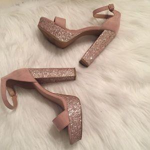 "Charlotte Russe ""Lulu"" platform heels size 7."